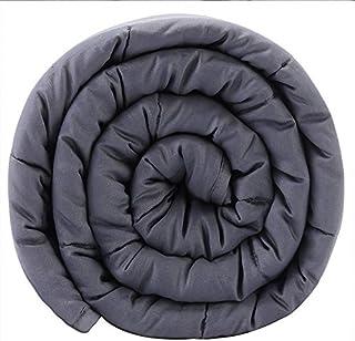 Taille: 155x220 cm pour Un Sommeil GRAVITY Couverture Poids: 8kg Couverture d/ét/é Classique et rafra/îchissante Une Excellente Solution pour Le Stress 2 couvertures Set Bleu INCL