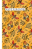 INSECTS NOTEBOOK JOURNAL BIRTHDAY GIFT 6 x 9 inches 120 PAGES