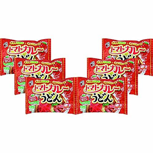 五木食品 トマトカレーうどん 458g×6個