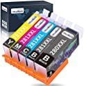 OfficeWorld Replacement Ink Cartridges for Canon 280 and 281