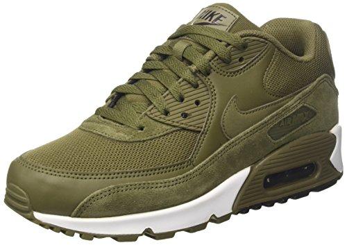Nike Essential, Scarpe da Ginnastica Uomo, Verde (Medium Olive/Medium Olive/Velvet Brown), 43 EU