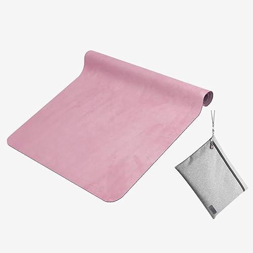 Les Loisirs Fitness Mat Impression Tapis De Yoga L'élargissement Non-Slip Coussin Pliage Portable Sac De Rangement 185  68 Cm (Couleur   Vert)