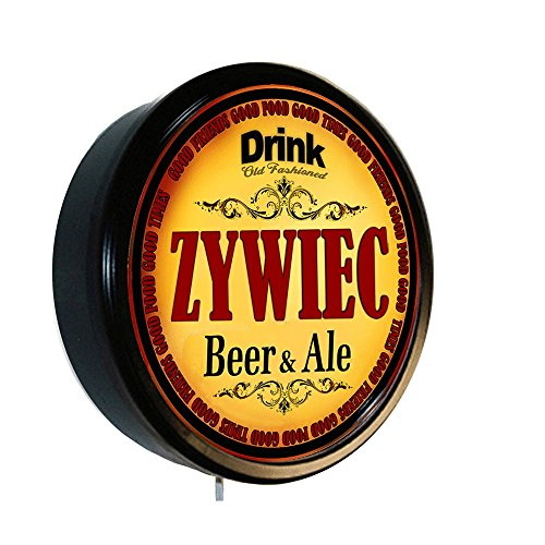 Goldenoldiesclocks ZYWIEC Beer and Ale Cerveza Lighted Wall Sign