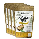 Millet Rusk - Moringa Leaf - No maida or Sugar No added flavours Preservative Free Pack of 4