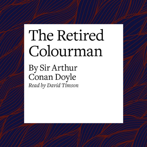 The Retired Colourman audiobook cover art
