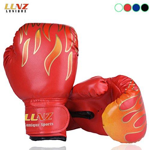 Kinder Boxhandschuhe, für Sparring, 170 g, für 3 - 10Jahre, rot, Größe S