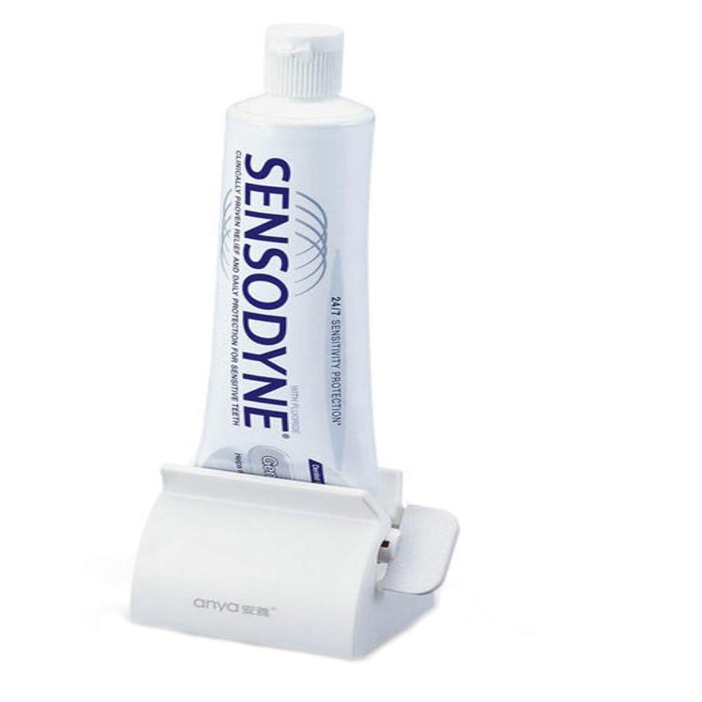 突然のゴシップカーペット歯磨き粉スクイーザ多目的クリエイティブマニュアルホームスクイーザ用ホース歯磨き粉洗顔料ハンドクリームなど,BWhite