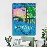 wopiaol Kein Rahmen Abstrakte Sommerferien Leinwand Malerei Moderne Bunte Poster und Drucke Wand dekorative Bild Home Decor für Wohnzimmer