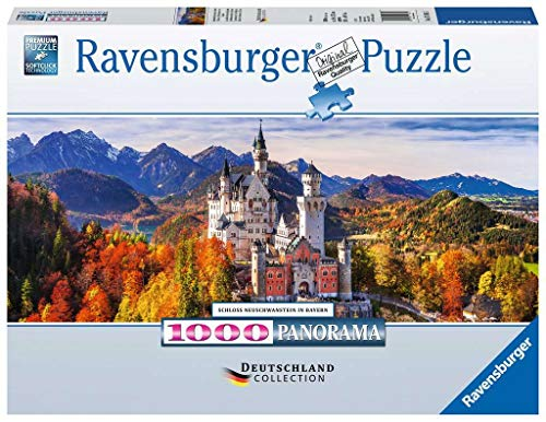 Ravensburger Puzzle 15161 - Schloss in Bayern - 1000 Teile