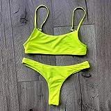 SPNEC Sexy bikinis bikini empuje hacia arriba traje de baño mujer traje de baño mujeres traje de baño Biquini Traje de baño Biquine (Size : Small)
