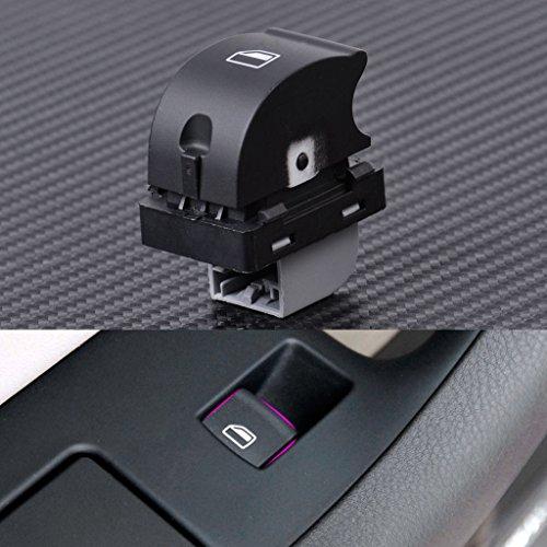 DAI QI Interruptor de la Ventana del automóvil Auto Pasajero Delantero Frente a la Derecha Ventana de energía eléctrica Panel de elevación Control de Interruptor para Audi A4 B6 B7 8ED959855
