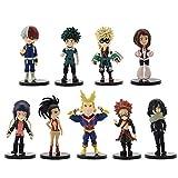 Zhongkaihua My Hero Academia Figures 6.5-10.7cm Pop/Toga/Deku/Kirishima/Todoroki/Banpresto/Bakugo/Tsuyu/Tomura/Dabi Academia Set