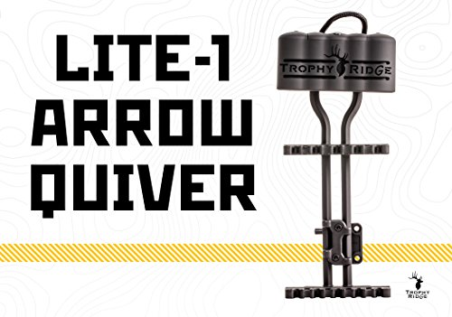Trophy Ridge Lite-1 5 Arrow Quiver, Black
