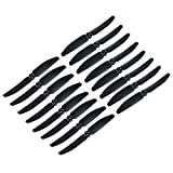 RAYCorp - Genuine Gemfan 5030 5x3 Black Propellers. 16 Pieces(8 CW, 8 CCW) 5-inch Quadcopter and Multirotor Props