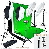 Linco Lincostore Photo Video Studio Light Kit AM169 - Including 3 Color...
