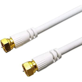 Hanwha 4K 8K 地デジ/BS/CS/CATV放送対応 アンテナケーブル 10m [1年保証/相性保証][3224MHz対応][ストレート-ストレート][両端 F型 ネジ式コネクタ][S4C-FB 同軸ケーブル] UMA-ATC100.