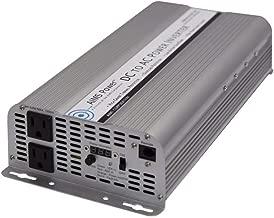 AIMS Power 2500 Watt 12V 2500W / 5000W Surge Power Inverter Digital Meters PWRINV250012W