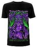 Photo de deyang DevilDriver 'Judge Neon' (Black) T-Shirt - New & !