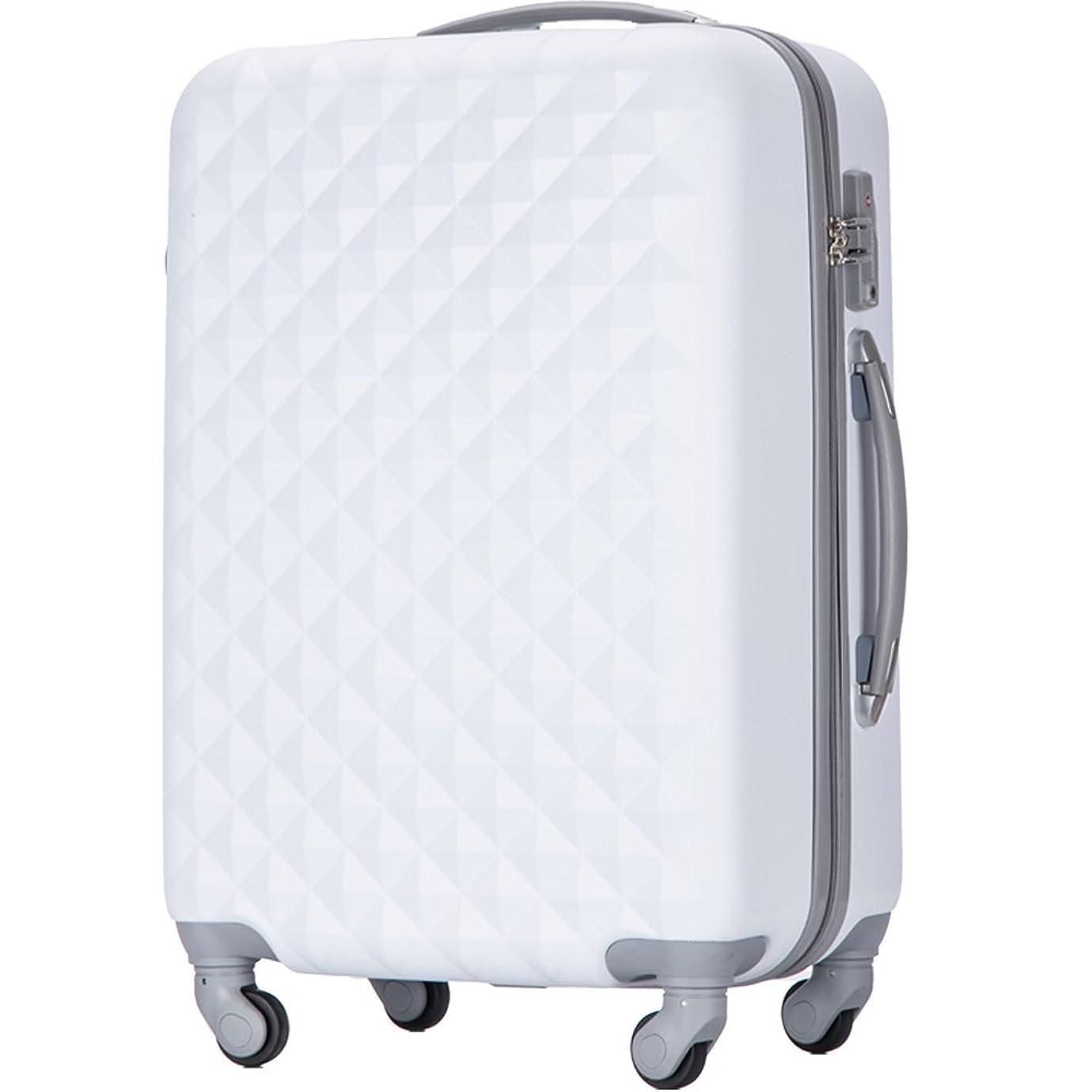 アクティブ分離電池(トラベルデパート) 超軽量スーツケース TSAロック付 ダイヤ柄