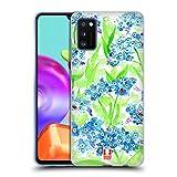 Head Case Designs No Me Olvides Flores de Primavera Carcasa de Gel de Silicona Compatible con Samsung Galaxy A41 (2020)