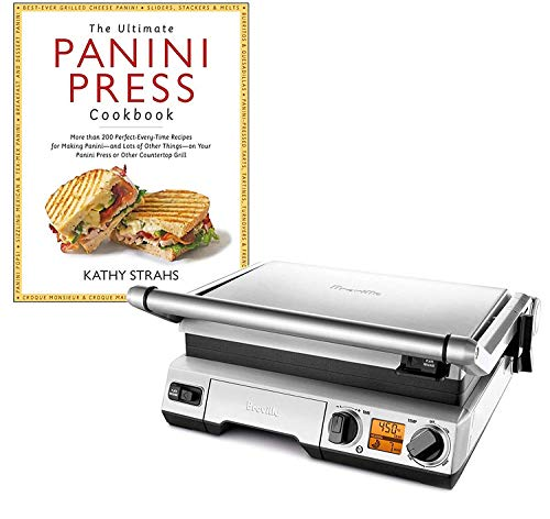 Great Deal! Breville BGR820XL Smart Grill Panini Press Bundle withThe Ultimate Panini Press Cookboo...