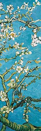 1art1 Vincent Van Gogh - Blühende Mandelbaumzweige, 1890, 1-Teilig Fototapete Poster-Tapete 250 x 79 cm