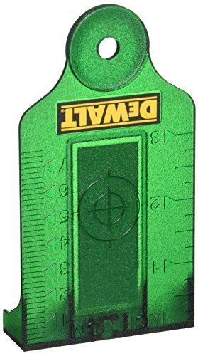 DeWalt DE0730G-XJ laserdoelkaart, groen, groen