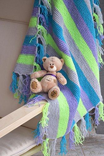 Baby Decke Kinder stricken Decken Wolle Taufe Franse Bettwäsche werfen Neugeborenen BABY GESCHENK Baby Junge Geschenk Kleinkind Abdeckung Deckel Wolldecke wickeln Oma Platz Wurf