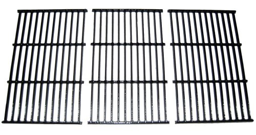 For Sale! Rectangular Porcelain Coated Cast Iron Cooking Grids (Set of 3)