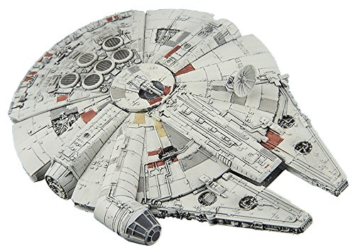 BANDAI Star Wars: Episode IV - A New Hope Millennium Falcon Vehicle Model 006 Kit Modello