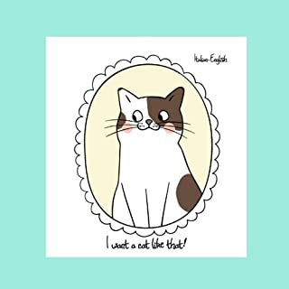 I want a cat like that!: Italian-English Bilingual Picture Story Book