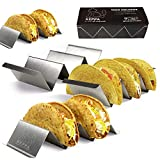 Taco Holder Stands Stainless Steel, Taco Shell...