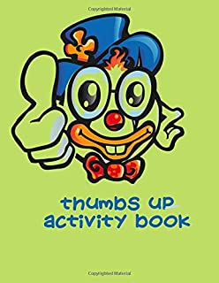 Thumbs Up Activity Book: 200-Page Activity Book | Family Fun Games | Hangman | Tic Tac Toe | Hexagon | Four In A Row