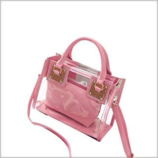 Clear Purse Stadium Approved Clear Bag For Women Crossbody Removable Shoulder Strap