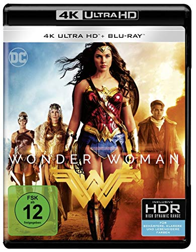 Wonder Woman (Remastered) (4K Ultra HD) (+ Blu-ray 2D)