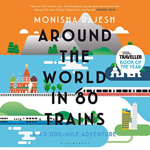 Around the World in 80 Trains cover art