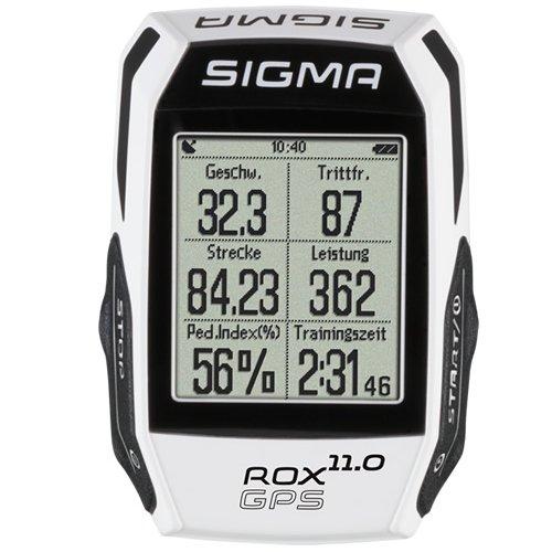 ROX 11.0 GPS ROX 11.0 Basic Fahrradcomputer GPS, Weiss, One Size - 2