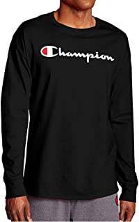 Champion Men's Graphic Classic Jersey LS Tee T-Shirt (pack of 1)