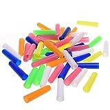 BCP 50pcs Random Color Plastic Pencil Cap Pencil Protector
