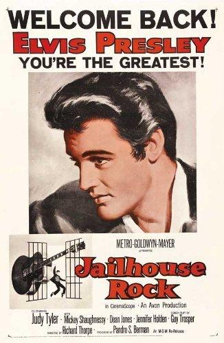 JAILHOUSE ROCK POSTER Film (68,6x 101,6cm–69cm x 102cm) (1957) (Stil B) durch Dekorative Wand Poster
