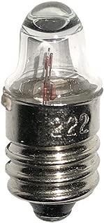 #222 Automotive Incandescent Miniature Bulb 2.2V 0.25A TL3 E10 (10 Pack)