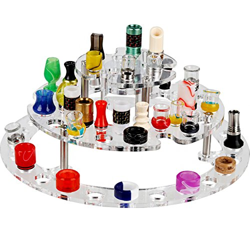 58 holes organizer for 810tips and 510 tips vape stand vape display (Acrylic, Size B)