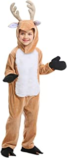 Qy Children's Christmas Dress Up, Animals Play Elk Costumes, Boy and Girl Christmas Eve Costumes, Deer Children's Day Dress Up, Increase The Festive Atmosphere