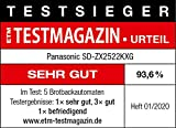 Panasonic SD-ZX2522 Brotbackautomat - 6