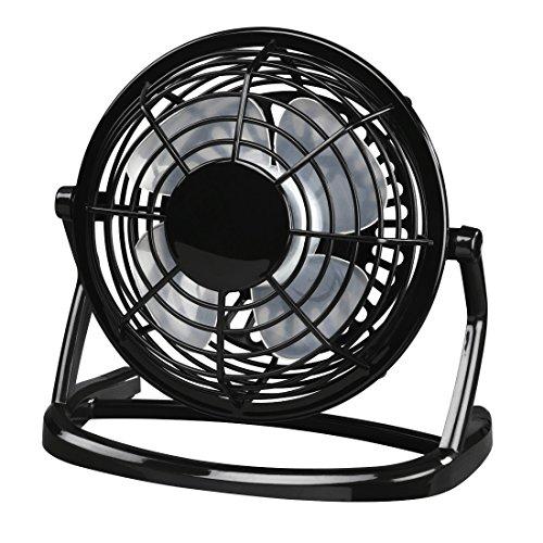 Hama USB Desk Fan Negro - Ventilador (Negro)