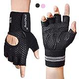 Fitself Fitness Handschuhe Herren Damen Trainingshandschuhe mit Handgelenkschutz für Gewichtheben...