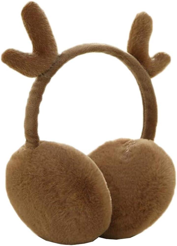 Cute Animal Soft Earmuffs Winter Warm Outdoor Ear Covers Headband Fur Ear warmer,#C11