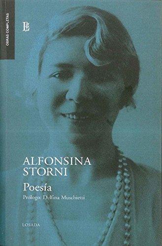 Alfonsina Sttorni. Poesía