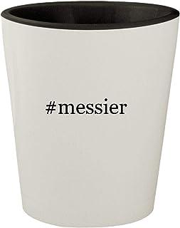 #messier - White Outer & Black Inner Hashtag Ceramic 1.5oz Shot Glass