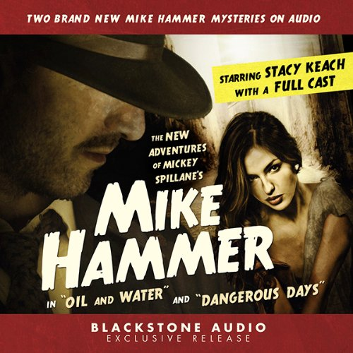 The New Adventures of Mickey Spillane's Mike Hammer audiobook cover art